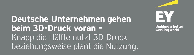 Das disruptive Potential des 3D-Drucks für deutsche Unternehmen